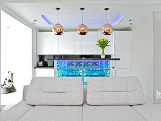 Hunter design Living room Glass Turquoise