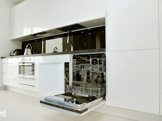 Hunter design Kitchen Plastic White