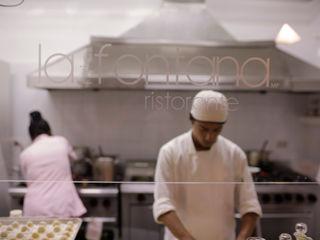 RISTORANTE LA MÍA FONTANA Taller La Semilla Gastronomía de estilo minimalista