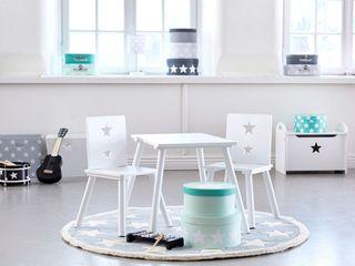 Chidren's Rooms Viva Lagoon Ltd 嬰兒/兒童房桌椅 木頭 White