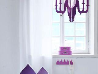 Chidren's Rooms Viva Lagoon Ltd 嬰兒/兒童房照明 木頭 Purple/Violet