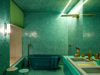 Brunete Fraccaroli Arquitetura e Interiores Ванная комнатаДекор