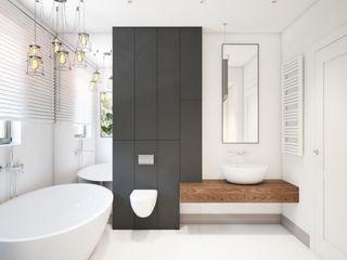 Finchstudio Ванная комната в стиле минимализм