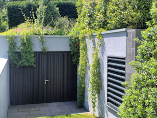 BERND WALDVOGEL LANDSCHAFTSARCHITEKTUR Сад в стиле модерн