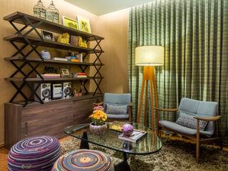 Melina Mundim | Design de Interiores Гостиная в стиле модерн