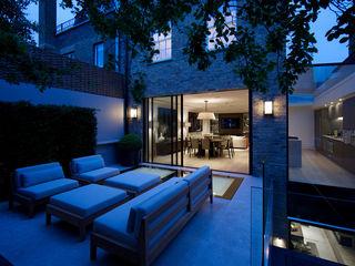 Bedford Gardens House, London Nash Baker Architects Ltd 모던스타일 정원 파랑