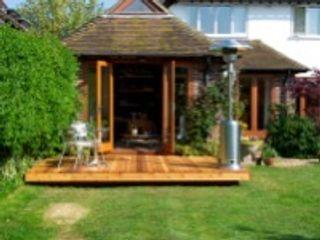 Orchard House Ivon Blumer Architects Jardines de estilo moderno