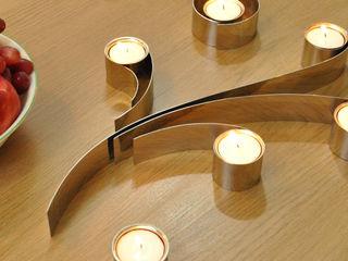Swirl Tealight Holder HeadSprung Ltd Sala da pranzoIlluminazione