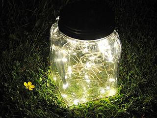 Cosmic Jar HeadSprung Ltd GiardinoIlluminazione