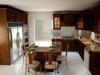 Cocinas Clásicas JS ARQUITECTURA CocinaMesas, sillas y bancos