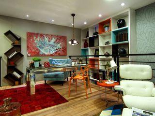 Detalles Interiores JS ARQUITECTURA Salones modernos