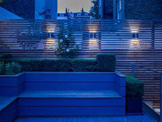 The Chelsea House, London Nash Baker Architects Ltd 클래식스타일 발코니, 베란다 & 테라스