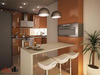 GarDu Arquitectos Modern kitchen