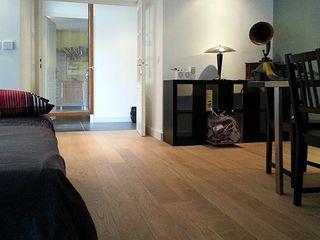 aménagement d'un appartement (Lyon, Rhône) atacama architecture Salon moderne
