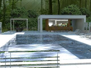 3d Casa Design Moderner Garten