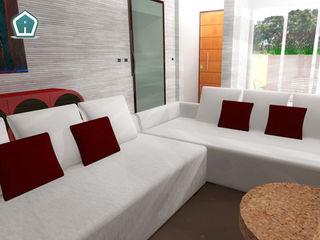 3d Casa Design Moderne Wohnzimmer