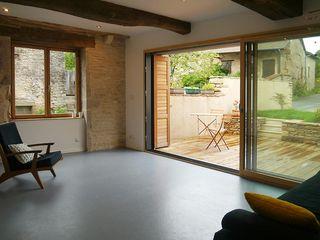 demi-niveaux (Saône-et-Loire) atacama architecture Salon moderne
