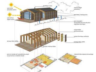 hêtre des Vosges (Vosges) atacama architecture Maisons modernes