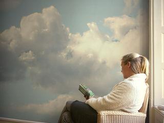 Wolken-Tapeten Gaedke Tapeten Ausgefallene Wände & Böden