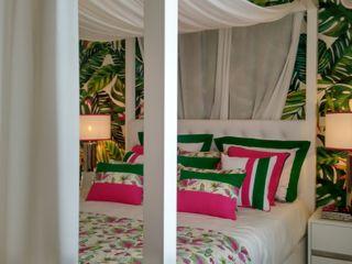 Andreia Louraço - Designer de Interiores (Email: andreialouraco@gmail.com) Cuartos de estilo tropical Algodón Verde