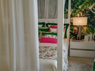Andreia Louraço - Designer de Interiores (Email: andreialouraco@gmail.com) Cuartos de estilo tropical Seda Rosa