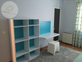 Andreia Louraço - Designer de Interiores (Email: andreialouraco@gmail.com) Cuartos infantiles de estilo moderno Madera Blanco