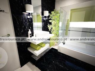 Andreia Louraço - Designer de Interiores (Email: andreialouraco@gmail.com) Baños de estilo clásico Negro