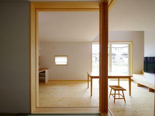 取手市O邸新築工事 K+Yアトリエ一級建築士事務所 北欧デザインの リビング