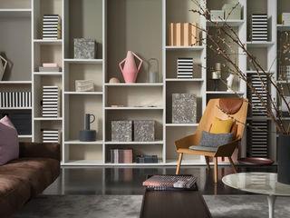 Living room homify Salon minimaliste