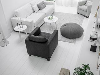 Design Studio Nu Salon scandinave Blanc
