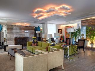 Viterbo Interior design 에클레틱 거실