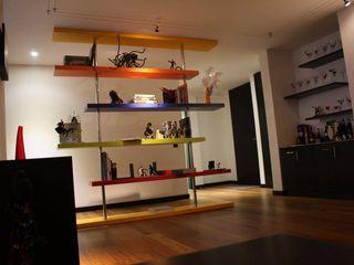 Heritage Design Group Ruang Keluarga Modern