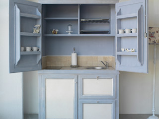 LA BOTTEGA DEL FALEGNAME Kitchen Solid Wood Blue
