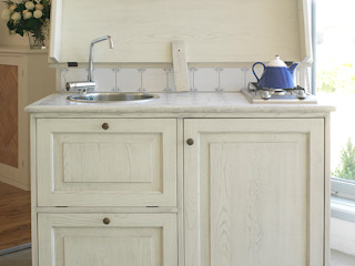 LA BOTTEGA DEL FALEGNAME Kitchen Solid Wood White