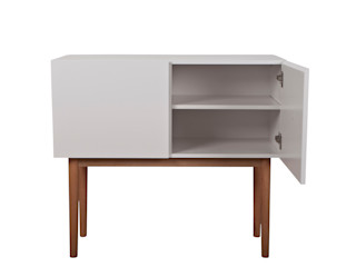 Highboard designbotschaft GmbH Living roomTV stands & cabinets