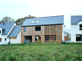 LAUS architectes Country style houses