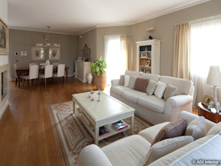Lavori ADI ARREDAMENTI Living room Wood Beige