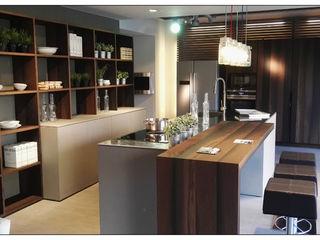 Formarredo Due design 1967 Industriale Küchen Grau