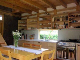 MORO TALLER DE ARQUITECTURA Кухня в рустикальном стиле