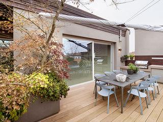 BRANDO concept Balkon, Veranda & TerasMobilyalar