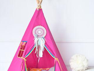 Wigwam Tipi - Décoration unique... Handmade of Passion Chambre d'enfantsAccessoires & décorations Coton Rose