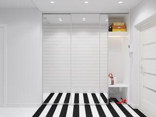 Оксана Мухина Eclectic style corridor, hallway & stairs