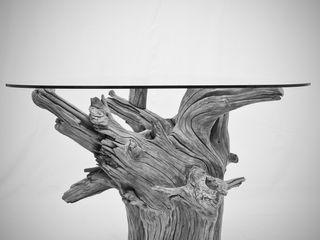 legno di ulivo Radice In Movimento SoggiornoTavolini Legno Marrone