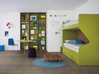 NIDI MOOVING : idee salvaspazio ROOM#6 Nidi Stanza dei bambiniLetti & Culle Verde