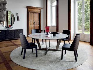 Controluce Home Lake's Villa Alberta Pacific Furniture Classic style dining room