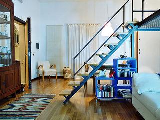 Nicola Sacco Architetto Salones de estilo moderno Blanco