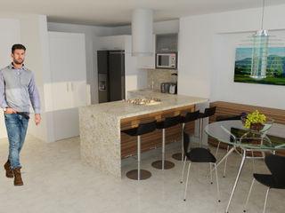 OPFA Diseños y Arquitectura Modern Kitchen