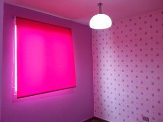 VIVAinteriores Minimalistyczny pokój dziecięcy Różowy