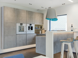 Lopez-Fotodesign مطبخ Grey