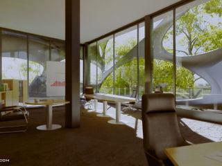 arquitecto9.com Modern Çalışma Odası